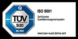 TÜV Süd zertifiziert